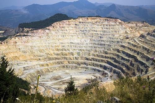 Rosia Poieni mining exploitation