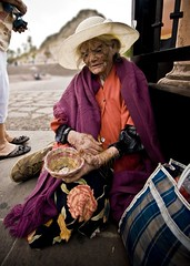 Old lady in Zacatecas (Navarroe) Tags: old beautiful lady de mexico la expression cerro zacatecas canasta breathtaking viejita bufa viejecita challengeyouwinner ltytr2 ltytr1 ltytr3