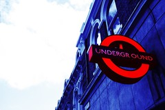 the tube (alternativefocus) Tags: london sign underground logo pentax thetube liverpoolst tubesign abigfave pentaxk10d alternativefocus