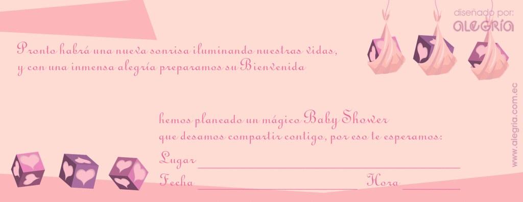 Invitación bienvenidas para bebés - Imagui