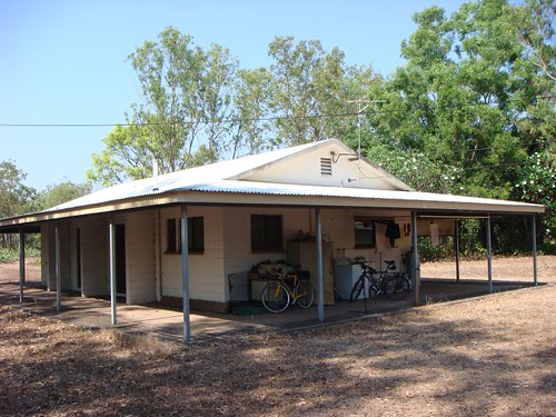 My host, Kingsley's home in McMinns Lagoon, 35 km SE of Darwin.