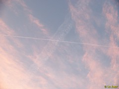 Chemtrails at Sunrise