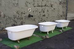 070929_0044_4x6 (paulpablopawel) Tags: sculpture ny newyork brooklyn dumbo installation tub bathtub