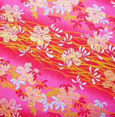 DSC09441 - Japanese hand-made paper (tengds) Tags: pink flowers red waves sakura cherryblossoms japanesepaper washi chiyogami yuzenwashi tengds