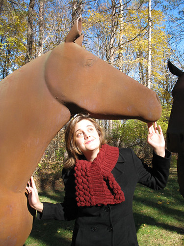 Posing with Horses