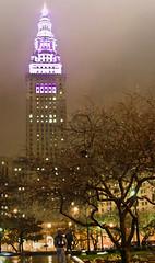 Cleveland-Rain-Nov (miche11) Tags: night cleveland rainy