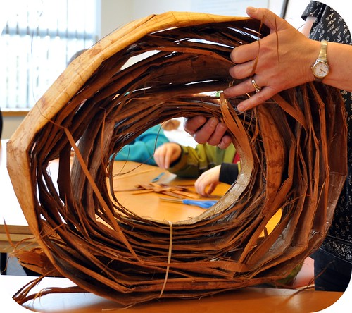 Coil of Red Cedar Bark