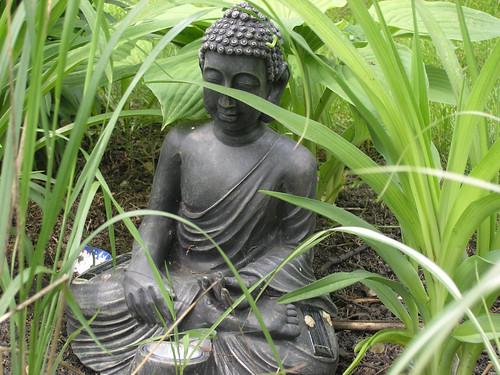 Solar Powered Budda