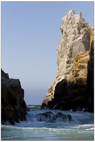 Riu Palace Cabo Sea of Cortez rocks