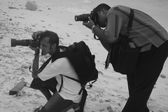 secret pose of great photography (man's pic) Tags: blackandwhite bw pose blackwhite indianocean maldives thephotographer ahsan sunie maldivianphotographer manspic