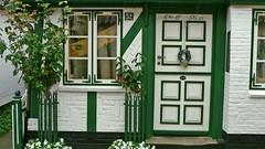 Nordfriesland-Tren-29 (vouffy) Tags: door roses house germany eingang entrance doorway portas tren threshold portes rosenstock housedoor trschwelle northernfrisia seasidehousdoors