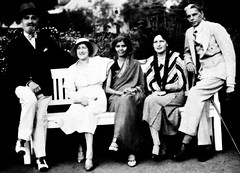 Mr Jinnah and Miss Fatima jinnah with their friends in Bombay (Doc Kazi) Tags: pakistan india jinnah parsi hisotry