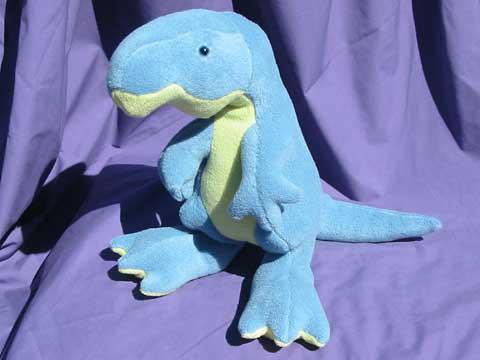 TIMMY-T-Rex-soft-toy-dinosaur-pattern
