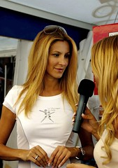 Adriana Volpe (pasma) Tags: italy woman girl beautiful italia spinning blonde toscana fitness interview viareggio bionda intervista adrianavolpe