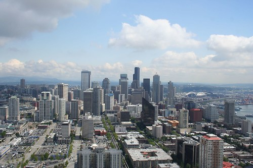 seattle, on top of the space needle
