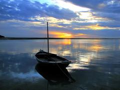 Sunrise Bokkura (╚ DD╔) Tags: sea water sunrise boat lagoon calm didi addu hithadhoo bokkura mywinners colorphotoaward aplusphoto atcdd superbmasterpiece superhearts ysplix