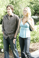 Sarah and Chuck (nbcchuck) Tags: nbc levi chuck zachary fansite bartowski
