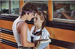 Rusty James (Dillon) and Patty (Lane)