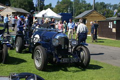 KOY in the paddock at Prescott (66Alpine) Tags: car racing bentley prescott hillclimb vscc