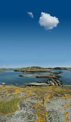 Time to wander (majorbrighton) Tags: sea june rock sweden april lichen 2007 canon400d stephennicholas swedishcoast timetowander