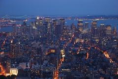 Lower Manhattan (tredychris) Tags: new york city nyc newyork night nikon state manhattan empire empirestate d80 nikond80 worldwidelandscapes