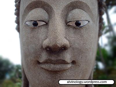 Stern Buddha