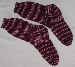 Spiralling Socks