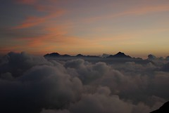 twilight 070825 #1 (tsuda) Tags: cloud mountain japan twilight toyama hakuba nagano happo karamatsu  da1645mm
