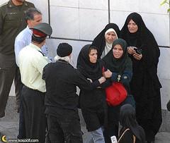 iran / tehran hezbollah( female ) arrested protest woman 2 (high_court) Tags: sex democracy iran islam  democrat   zan irani seks   emam rahbar     azad khamenei    khomeini zendan sepah    eadam  entezami dokhtar      eslami ezdevaj mollah eslam   akhond  pasdar      sigheh   jslami     mullahh