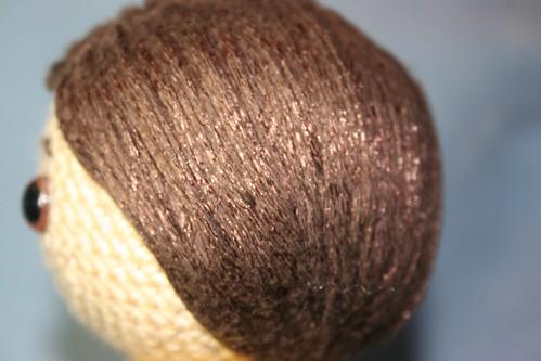 Owlishly Amigurumi Hair : Owlishly: Amigurumi hair tutorial