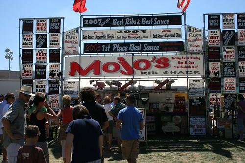 Mojo's BBQ at Rib America