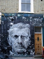 Samuel Beckett (server pics) Tags: street uk urban streetart london art alex wall paint artist painter beckett sa
