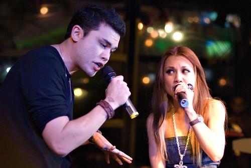 Vince Chong and Hannah Tan