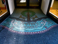 "Art Deco Mosaic ""Peter Jones"" SW1 (londonconstant) Tags: uk london architecture decorative departmentstore gb artdeco londra mozaic sw1 peterjones cadogangardens costi citytrees cadoganestate londonconstant"