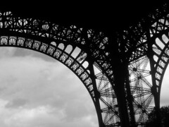 Another arty Eiffel Tower photograph