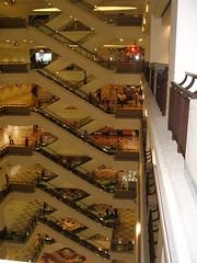 Times Square Shopping Mall - KL (mcontento21) Tags: 2004 june escalator vertigo timessquare malaysia shoppingmall kuala kualalumpur kl lumpur