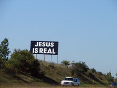 Jesus is real by quinn.anya, on Flickr