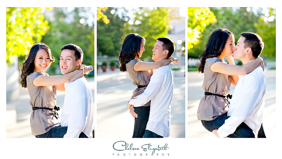 Pasadena wedding photography engagement session