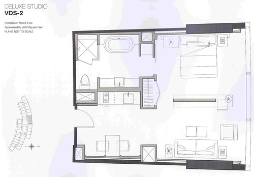 vdara deluxe suite floor plan free home design ideas images