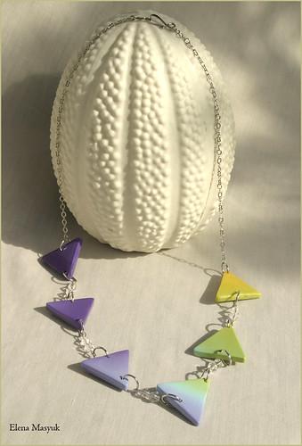 Rainbow triangles - 2