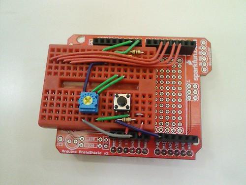 100515-152356-プロトシールド上に液晶モジュールを乗せるための配線をします