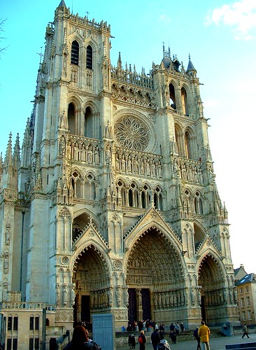 Cathédrale d'Amiens by OliBac, on Flickr
