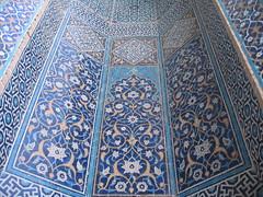 Day 3: Yazd - Jameh Mosque (birdfarm) Tags: iran mosque tiles badge ایران yazd tilework یزد fridaymosque jamemosque jamehmosque مسجدجامع مسجدجامعیزد persiantiles