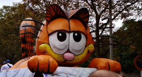 Kattenstoet - Garfield float by R/DV/RS, on Flickr