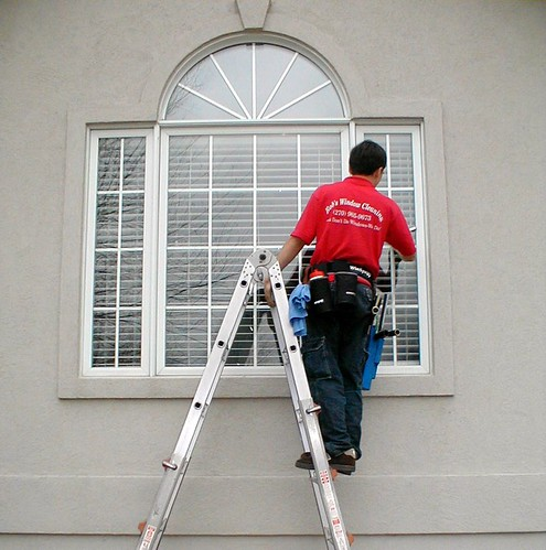 Rob's Window Cleaning Residential Shot