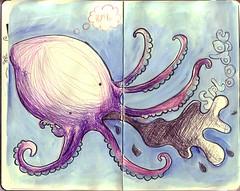 moleskin 001 octopus