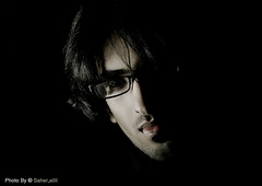 (Nasser Bouhadoud) Tags: man home canon dark eos 350 fahad nasser doha qatar saher ناصر فهد allil القحطاني بوحدود