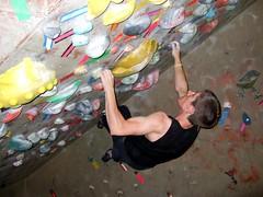 Lucas Cliffhanger (slightly-less-random) Tags: family colour digital fun brother indoor lucas climbing bouldering cliffhanger