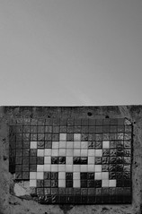 Space Invasion (Jobbys) Tags: london deleteme10 mosaic alien ss spaceinvader invader farringdon