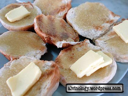 Kaya toast buns